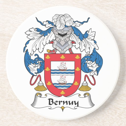 Escudo de la familia de Bernuy Posavasos Manualidades