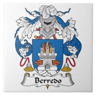 Escudo de la familia de Berredo Teja Ceramica
