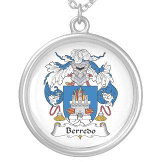 Escudo de la familia de Berredo Pendientes Personalizados