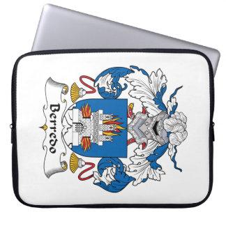 Escudo de la familia de Berredo Funda Portátil