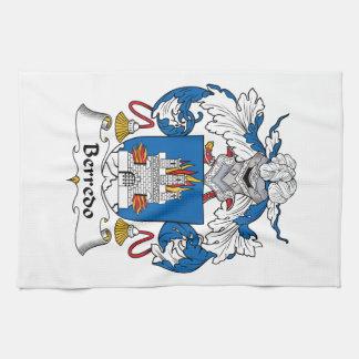 Escudo de la familia de Berredo Toalla De Mano