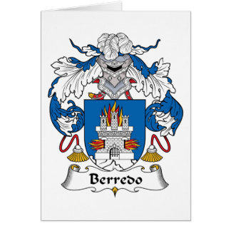 Escudo de la familia de Berredo Tarjeton