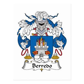 Escudo de la familia de Berredo Postal