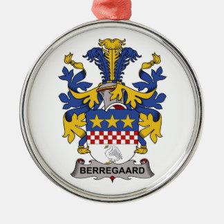 Escudo de la familia de Berregaard Adorno De Navidad