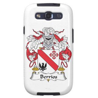 Escudo de la familia de Berrios Samsung Galaxy SIII Funda