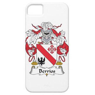 Escudo de la familia de Berrios iPhone 5 Protectores