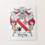 Escudo de la familia de Berrios Puzzle