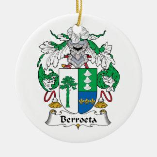 Escudo de la familia de Berroeta Ornamentos De Reyes