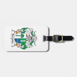 Escudo de la familia de Berroeta Etiqueta Para Equipaje
