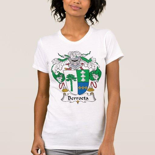 Escudo de la familia de Berroeta Camiseta
