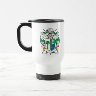 Escudo de la familia de Berroeta Taza De Café