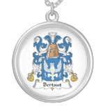 Escudo de la familia de Bertaut Collares Personalizados
