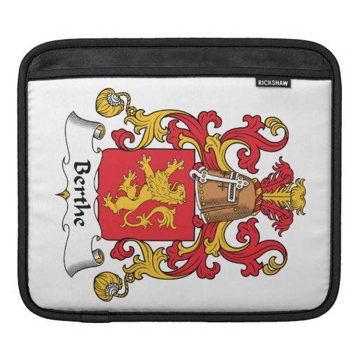 Escudo de la familia de Berthe Funda Para iPads
