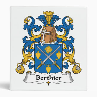Escudo de la familia de Berthier