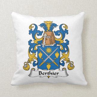 Escudo de la familia de Berthier Almohadas