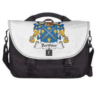 Escudo de la familia de Berthier Bolsas De Portátil