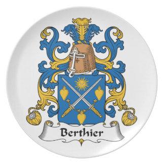 Escudo de la familia de Berthier Platos
