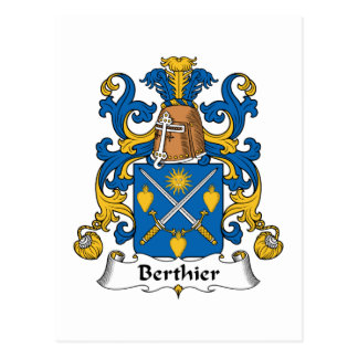 Escudo de la familia de Berthier Postal