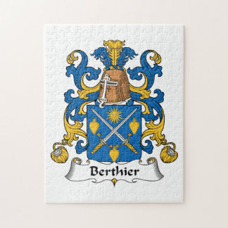 Escudo de la familia de Berthier Rompecabeza Con Fotos