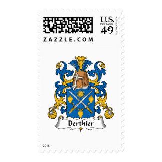 Escudo de la familia de Berthier Sello