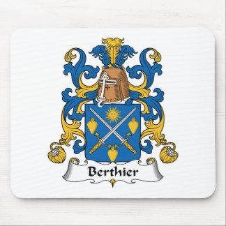 Escudo de la familia de Berthier Alfombrillas De Raton