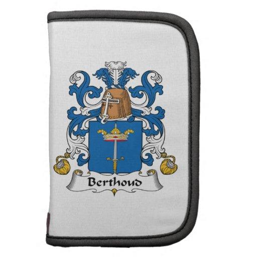 Escudo de la familia de Berthoud Planificadores