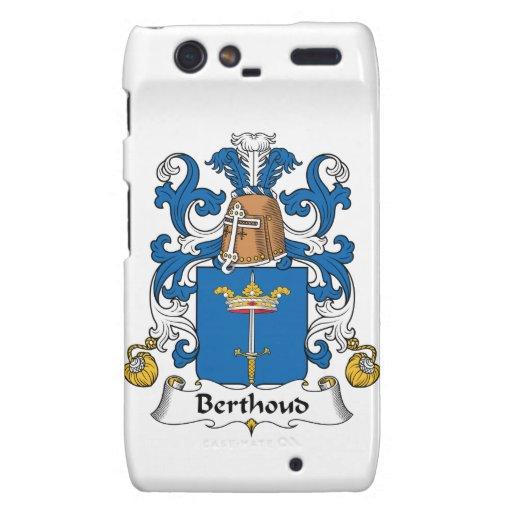 Escudo de la familia de Berthoud Motorola Droid RAZR Funda