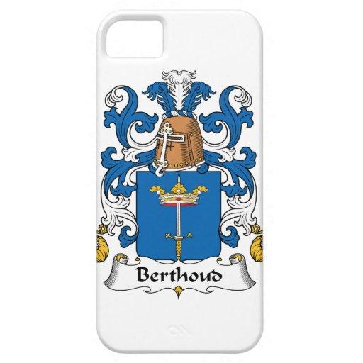 Escudo de la familia de Berthoud iPhone 5 Carcasa
