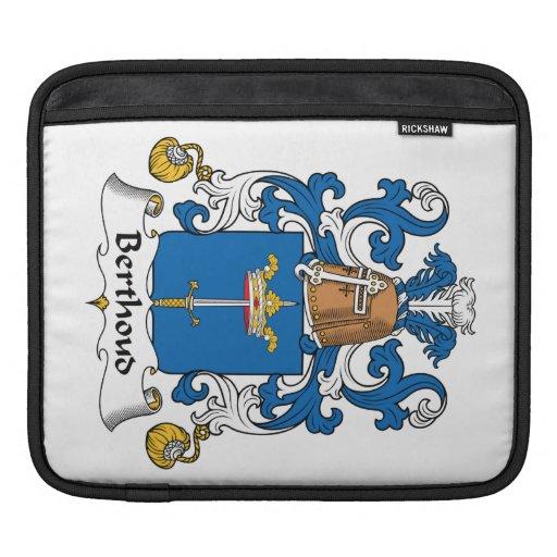 Escudo de la familia de Berthoud Mangas De iPad