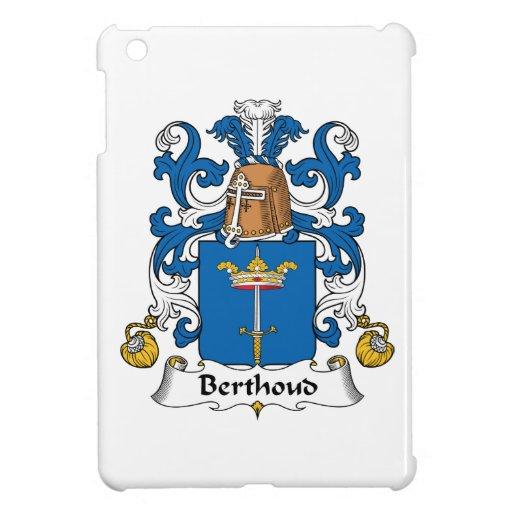 Escudo de la familia de Berthoud iPad Mini Cárcasas