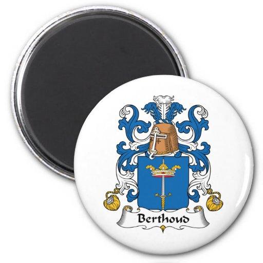 Escudo de la familia de Berthoud Imanes De Nevera