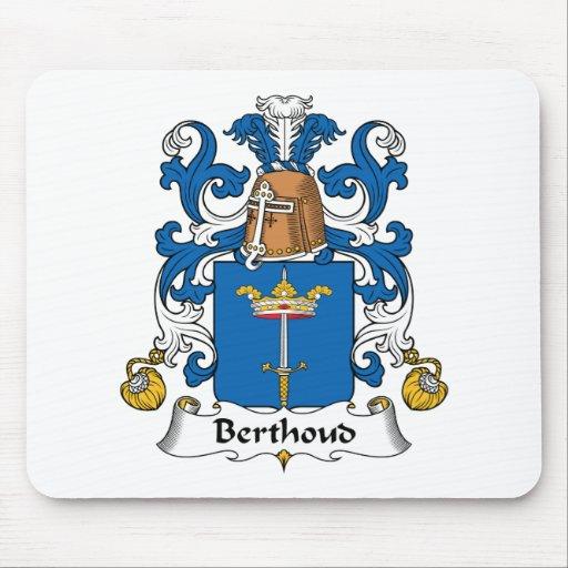 Escudo de la familia de Berthoud Tapete De Ratones