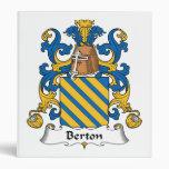 Escudo de la familia de Berton