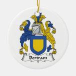 Escudo de la familia de Bertram Ornamentos De Reyes Magos