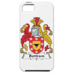 Escudo de la familia de Bertram iPhone 5 Coberturas