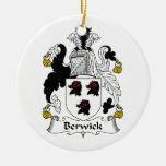 Escudo de la familia de Berwick Ornamento De Reyes Magos