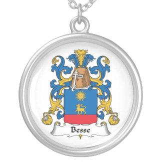 Escudo de la familia de Besse Colgante Redondo