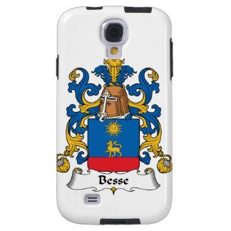 Escudo de la familia de Besse Funda Para Galaxy S4