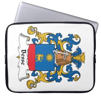 Escudo de la familia de Besse Funda Portátil