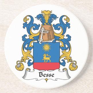 Escudo de la familia de Besse Posavasos Cerveza