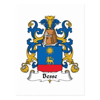 Escudo de la familia de Besse Postales