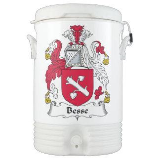 Escudo de la familia de Besse Refrigerador De Bebida Igloo