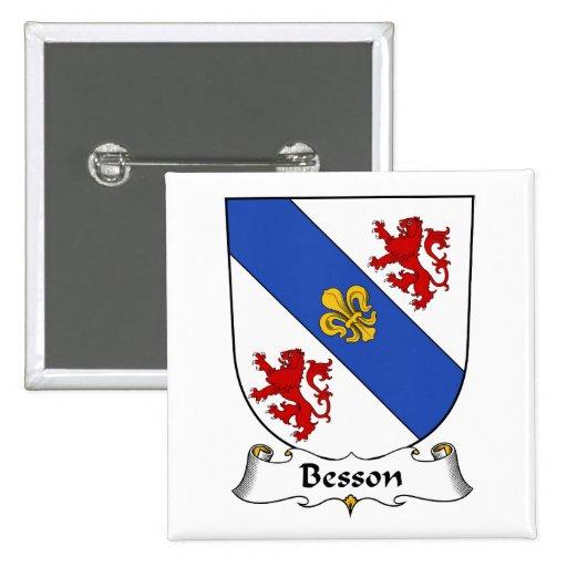 Escudo de la familia de Besson Pin