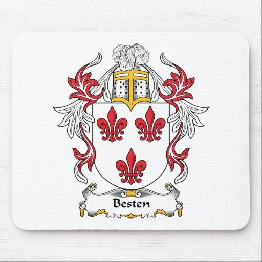 Escudo de la familia de Besten Alfombrilla De Ratón