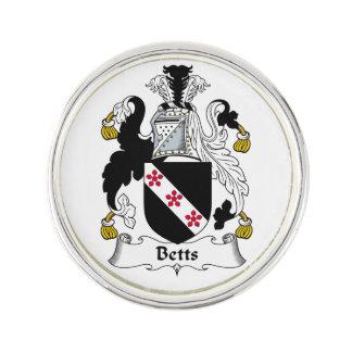 Escudo de la familia de Betts Insignia