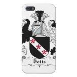 Escudo de la familia de Betts iPhone 5 Funda