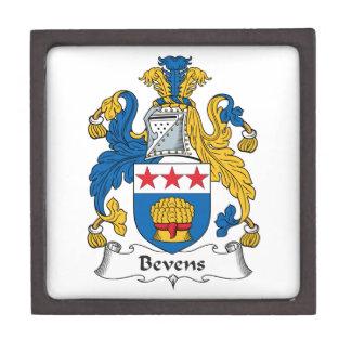 Escudo de la familia de Bevens Caja De Joyas De Calidad