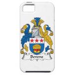 Escudo de la familia de Bevens iPhone 5 Case-Mate Coberturas