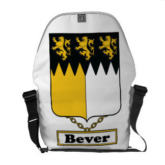 Escudo de la familia de Bever Bolsas De Mensajeria
