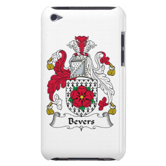 Escudo de la familia de Bevers Barely There iPod Cobertura
